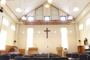 駒井牧師が司牧する泉佐野教会