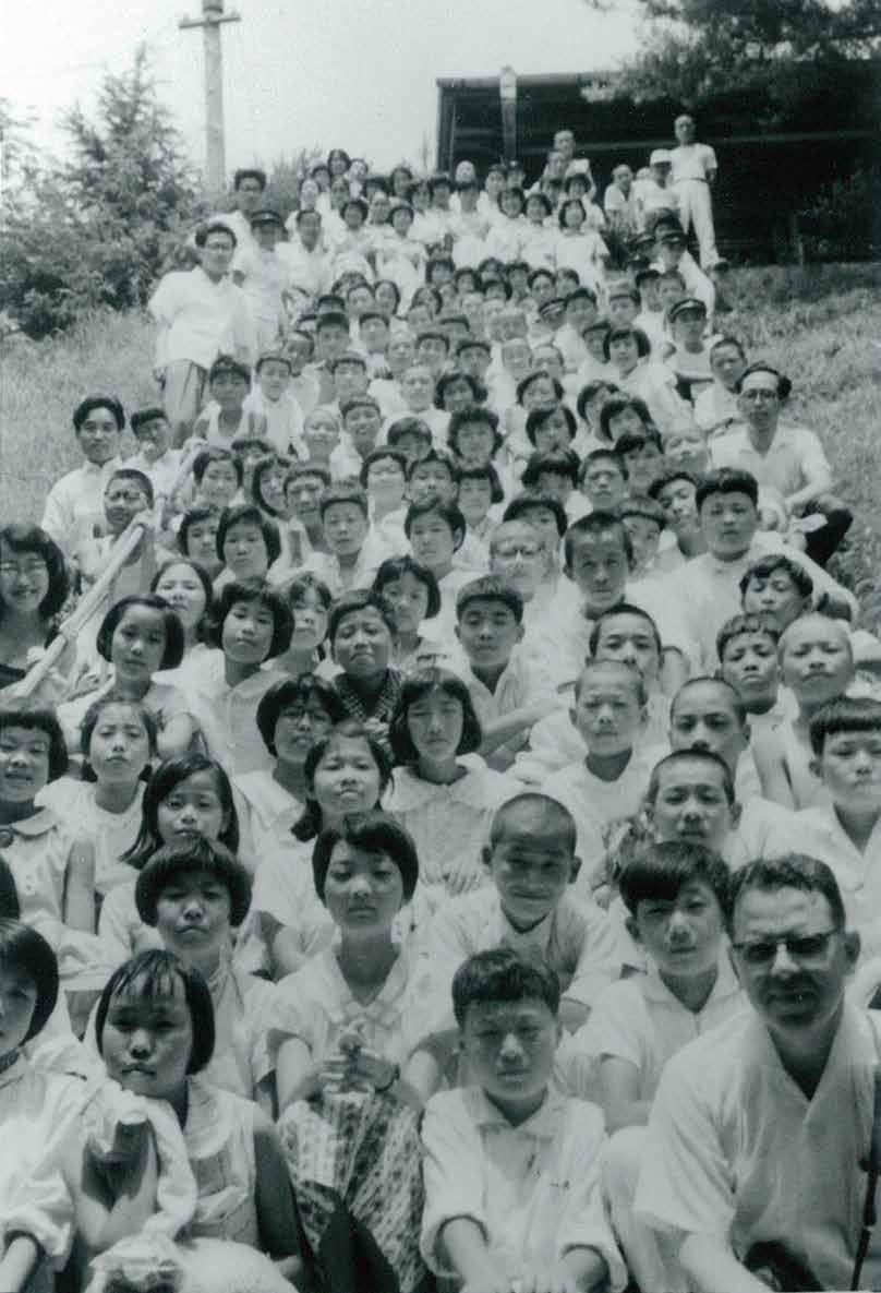 生徒たちの魂に響いた存道館での夏期修養会(1951年~)