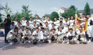 中学野球部 南河内ブロック大会 優勝 (1993年)