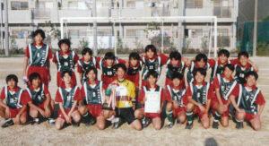 中学サッカー部 大阪府私学大会 優勝 (1999年)